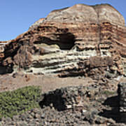 Abandoned Manganese Mine At Cape Vani Art Print