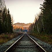 Adirondack Tracks Art Print