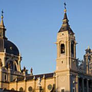 Almudena Cathedral In Madrid Art Print