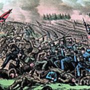 American Civil War, Battle Art Print