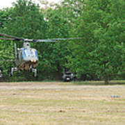 An Agusta A109 Helicopter Art Print