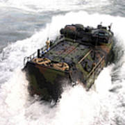 An Amphibious Assault Vehicle Art Print