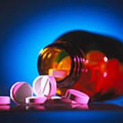 Analgesic Pills Art Print