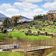 Andalusia Landscape Art Print