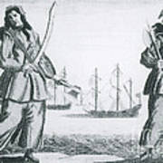 Anne Bonny And Mary Read, 18th Century Art Print by Photo Researchers