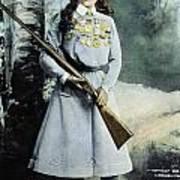 Annie Oakley (1860-1926) Art Print
