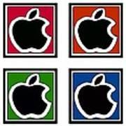 Apple Colors Art Print