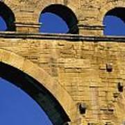 Aqueduc Du Pont Du Gard.provence Art Print