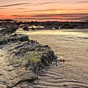 Ardrossan Sunset Art Print