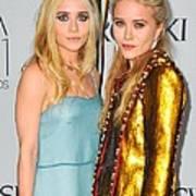 Ashley Olsen Wearing The Row, Mary-kate Art Print