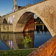 Avignon Bridge Art Print