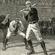 Baseball, 1888 Art Print