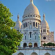 Basilique Du Sacre Coeur Art Print