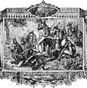 Battle Of Fallen Timbers Art Print by Granger