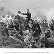 Battle Of Spotsylvania Art Print