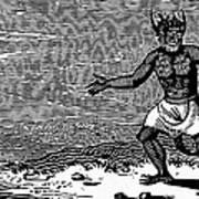 Bewick: Devil Art Print
