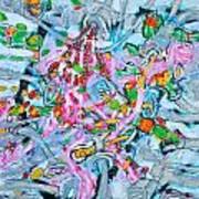 Bosque Walk Art Print