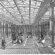 Brighton Aquarium, 1872 Art Print