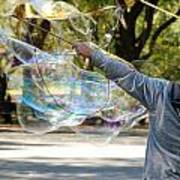 Bubble Boy Of Central Park Art Print