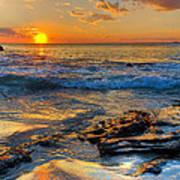 Burns Beach Wa Art Print by Imagevixen Photography