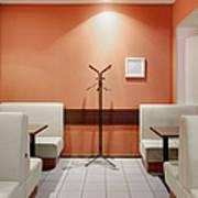 Cafe Dining Room Art Print