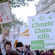 Campaign Against Climate Change March Art Print