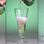 Carbonated Drink Art Print by Photo Researchers, Inc.