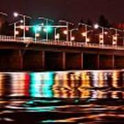 Champlain Bridge Art Print