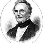 Charles Babbage, English Computer Art Print