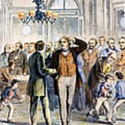 Charles Sumner (1811-1874) Art Print