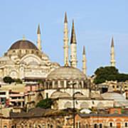 City Of Istanbul Art Print