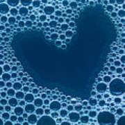 Close Up Of Bubbles Art Print