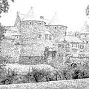 Corroy Le Chateau Gembloux Belgium Art Print