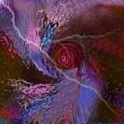 Creation Of A Rose  Art Print