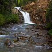 Crystal River Waterfall Art Print
