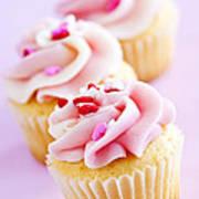 Cupcakes Art Print by Elena Elisseeva