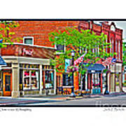Downtown Willoughby Art Print