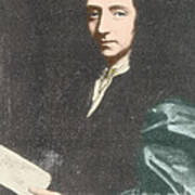 Edmond Halley, English Polymath Art Print