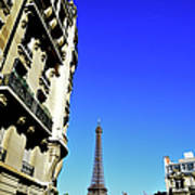 Eiffel Tower In Paris Art Print