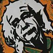 Einstein 2 Art Print
