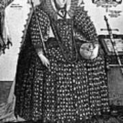 Elizabeth I (1533-1603) Art Print