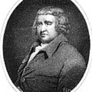 Erasmus Darwin, English Polymath Art Print