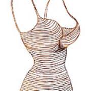 Fashion Sketch Art Print
