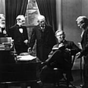 Film Still: Abraham Lincoln Art Print