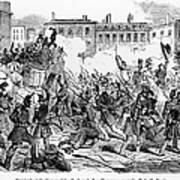France: Revolution, 1848 Art Print