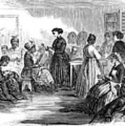 Freedmens School 1866 Art Print by Granger