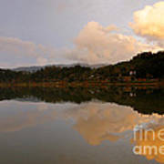 Furnas Lake Art Print