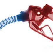Gas Nozzle X-ray Art Print