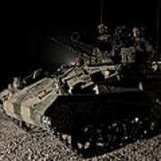 German Army Crew In A Wiesel 1 Atm Tow Art Print