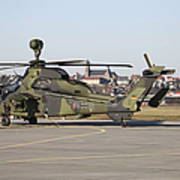 German Tiger Eurocopter At Fritzlar Art Print